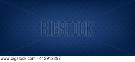 Blue Star Vector Background. American Banner. Patriotic Pattern