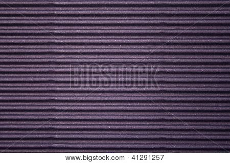 Corrugated colorful cardboard