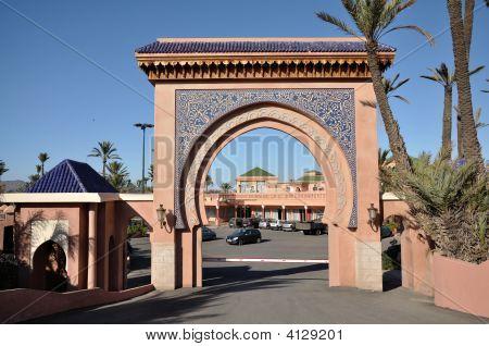 Gate In Marrakech