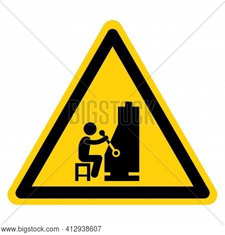 Do Not Disturb The Slot Player Symbol Sign,vector Illustration, Isolate On White Background Label. E