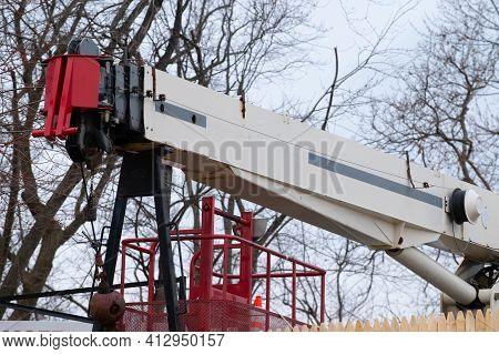 Mobile Crane Boom Hydraulic Automobile Truck Lifter