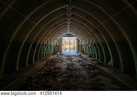 Abandoned Underground Depot In Soviet Military Base