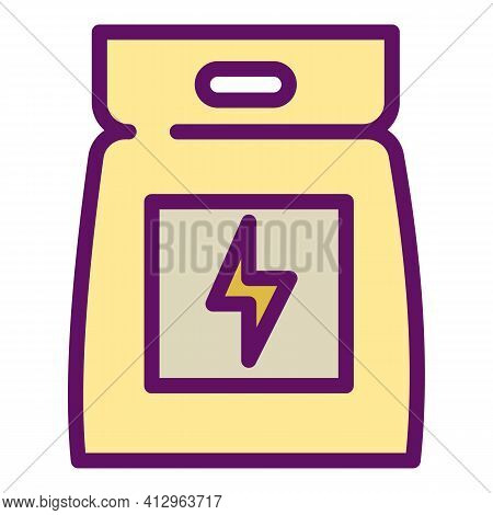 Sport Nutrition Pack Icon. Outline Sport Nutrition Pack Vector Icon For Web Design Isolated On White