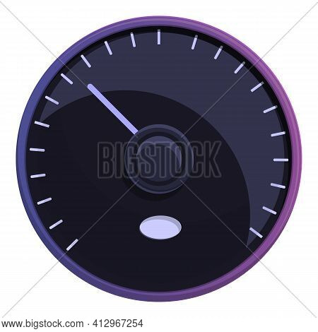 Car Elite Dashboard Icon. Cartoon Of Car Elite Dashboard Vector Icon For Web Design Isolated On Whit