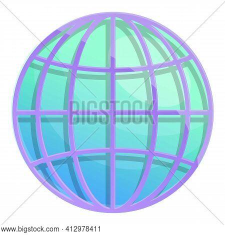 Global Marketing Mix Icon. Cartoon Of Global Marketing Mix Vector Icon For Web Design Isolated On Wh