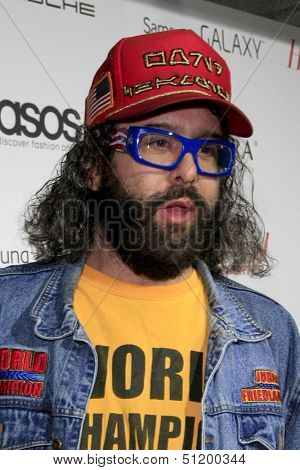 LOS ANGELES - SEP 19:  Judah Friedlander at the The Hollywood Reporter's Emmy Party at Soho House on September 19, 2013 in West Hollywood, CA
