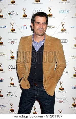 LOS ANGELES - SEP 20:  Ty Burrell at the Emmys Performers Nominee Reception at  Pacific Design Center on September 20, 2013 in West Hollywood, CA