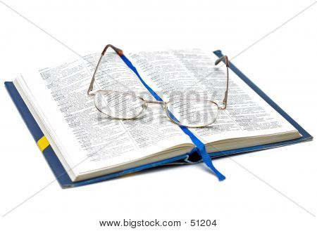 Book And Glasses II