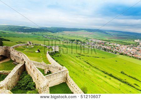 Lower Part Of Spis Castle