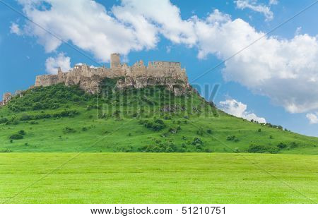Spis Castle On The Hill