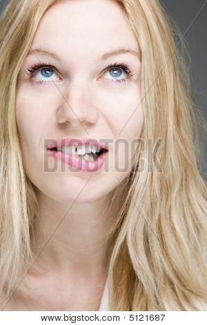 Biting Lip