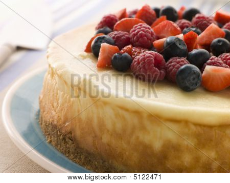New York Cheesecake With Mixed Berries