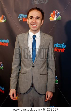 NEW YORK-SEP 17: Comedian Taylor Williamson attends the pre-show red carpet for NBC's