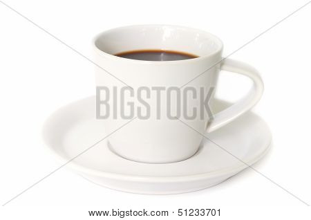 White Coffee Cup .