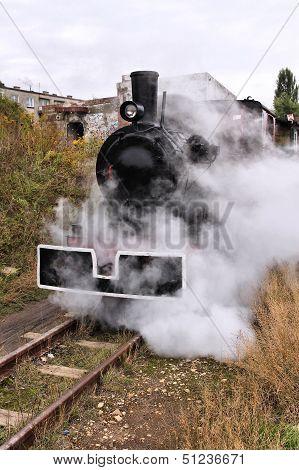 Poland Old Steam Train