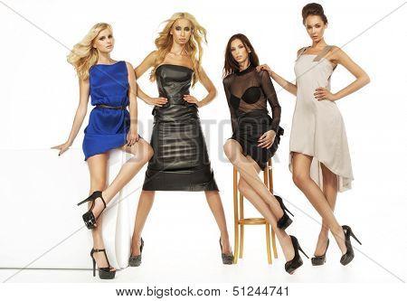 Four sexy ladies