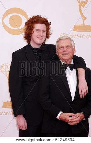 LOS ANGELES - SEP 22:  Robert Morse at the  at Nokia Theater on September 22, 2013 in Los Angeles, CA