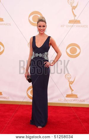 LOS ANGELES - SEP 22:  Katrina Bowden at the 65th Emmy Awards - Arrivals at Nokia Theater on September 22, 2013 in Los Angeles, CA