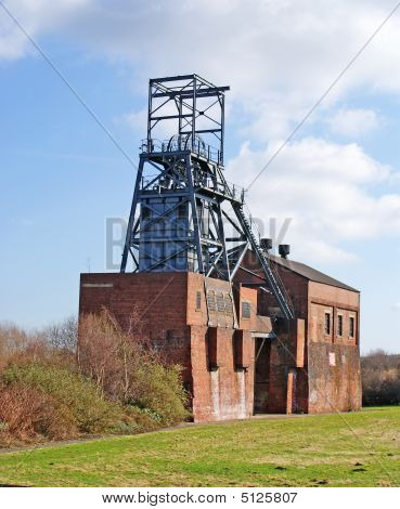 Abandoned Colliery Buildings
