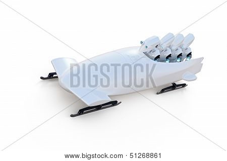 Robot Bobsledders