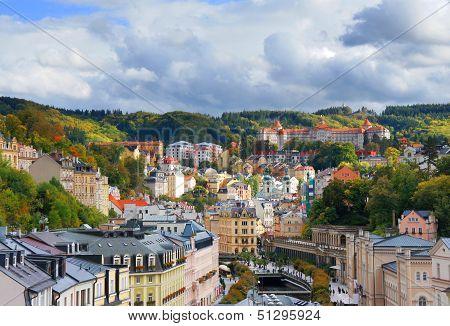 View of Karlovy Vary
