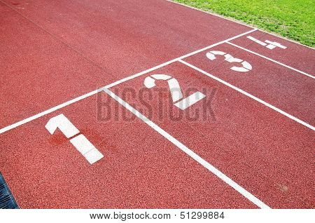 Race Track For Running