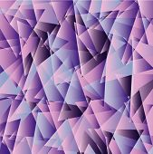 pearly colored triangle nice for background fantasy poster
