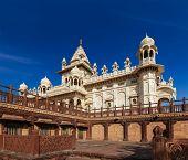 Jaswanth Thada mausoleum, Jodhpur, Rajasthan, India poster
