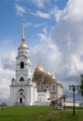 Assumption cathedral in Vladimir Build in 1192 by the Big Nest poster