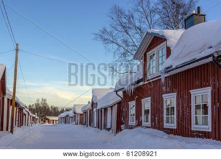 Church town in Gammelstad, Sweden, world heritage