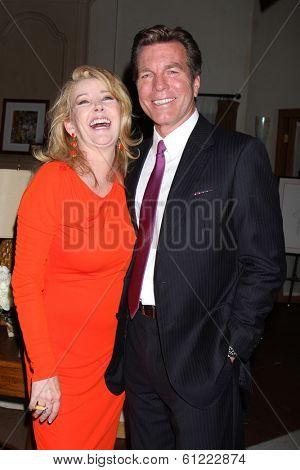 LOS ANGELES - MAR 4:  Melody Thomas Scott, Peter Bergman at the Melody Thomas Scott Celebrates 35 Years at the