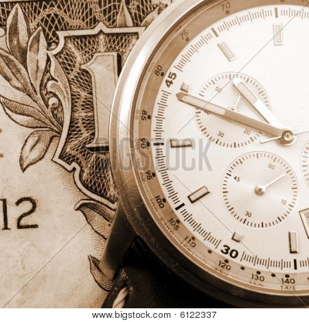 Financial Time Concept