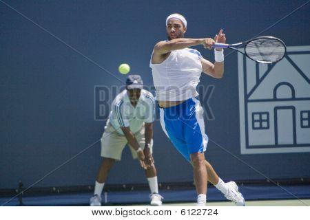 James Blake at Los Angeles Open Tennis Tournament