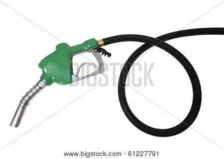 coiled gas hose
