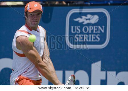 Gabashvili at the Los Angeles Tennis Open