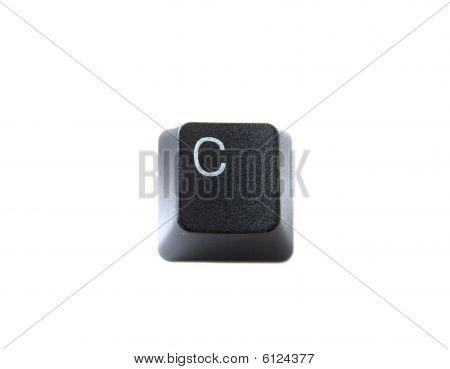 Keyboard Letter C