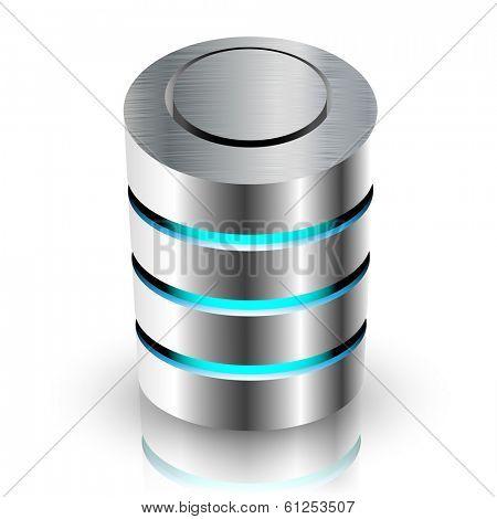 Concept of Private Information Base. illustration.
