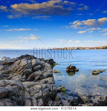 Liitle Town On A Sea Coast