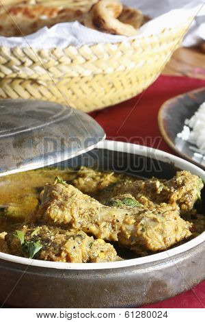 Chicken Pulusu or Gravy from India