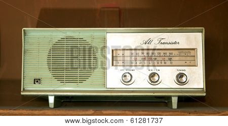 vintage radios ( toned image )