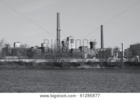 Old industrial sites