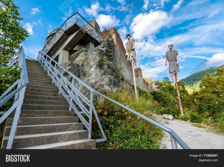 Poenari Fortress, Image & Photo (Free Trial) | Bigstock