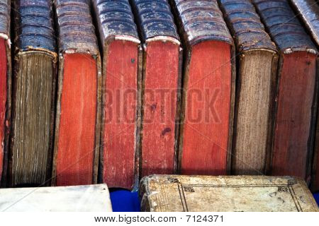 Very Old Antique Books
