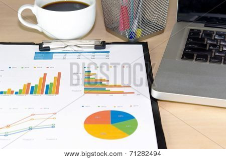 Business Documents Laptop