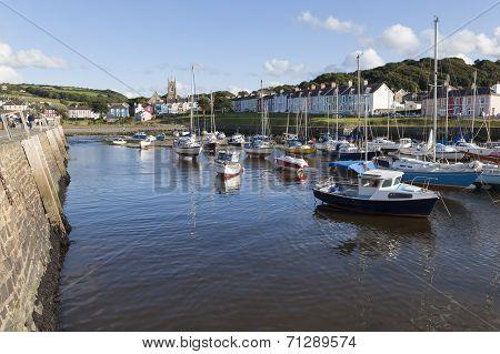 Aberaeron - Welsh harbour