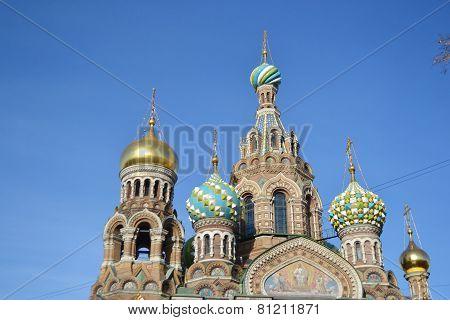 Orthodox Cathedral Spas Na Krovi.