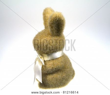 An Easter table decoration