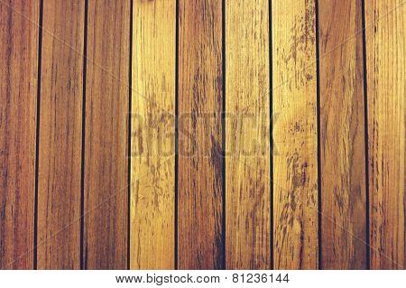 Line Up Teak Wood Background