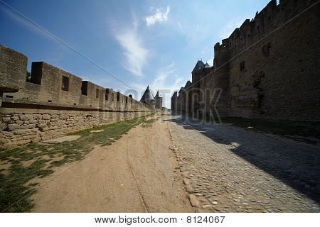 The City Walls Cité In France