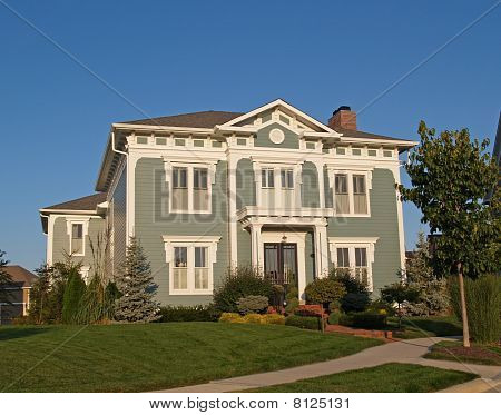 Huge Two Story New Historical Styled Home
